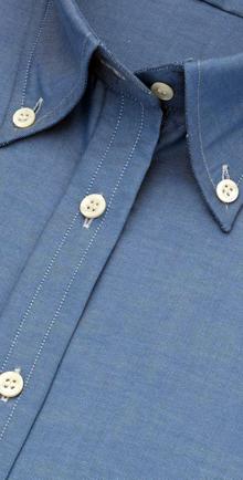chemise à col boutonné