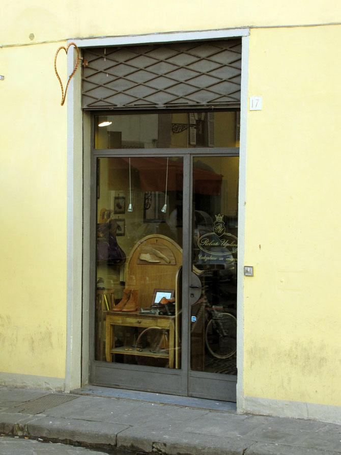 Roberto Ugolini, souliers sur mesure à Florence