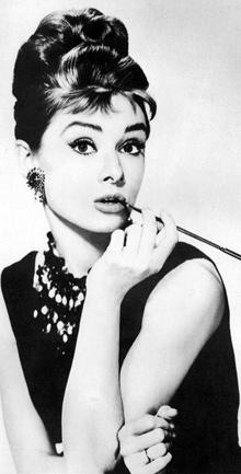 Audrey Hepburn, petite robe noire