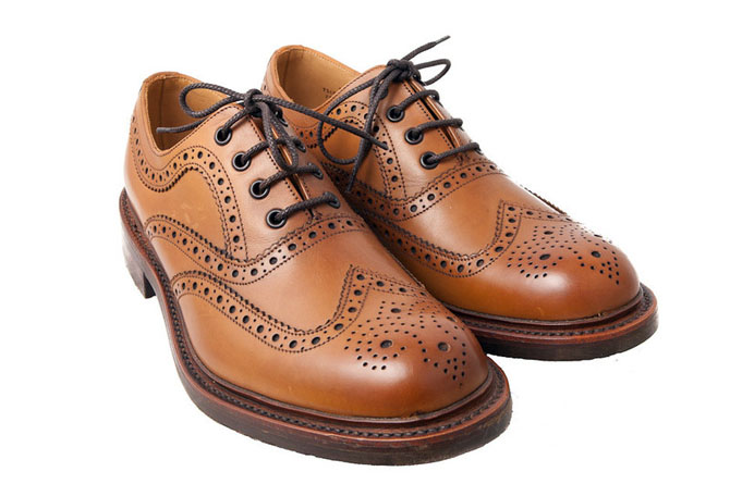 Style Ivy League : les brogues