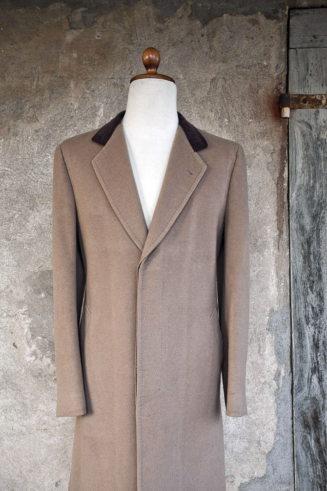 Chesterfield over-coat Sartoria d'Ambrosio