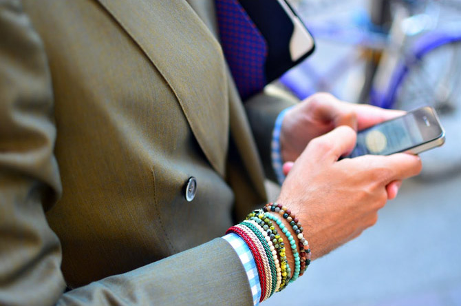 Fabio Attanasio, bracelets