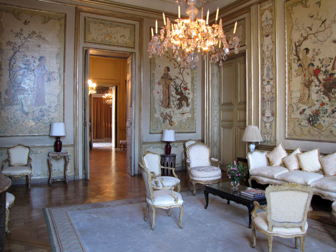 Ambassade d 39 italie paris h tel de la rochefoucauld for Salon a paris