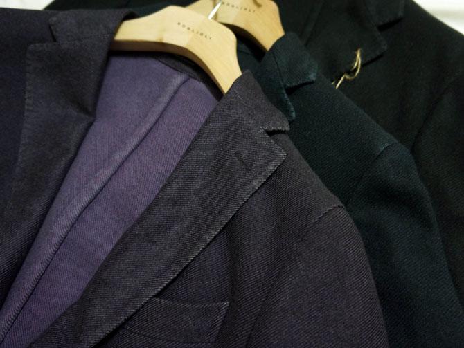 veste déstructurée, style italien