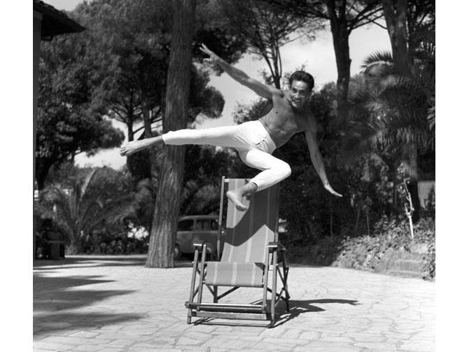 Walter Chiari, Fregene, 1959