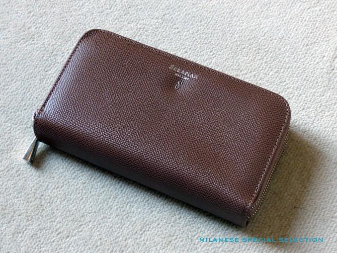 portefeuille double zip pour femme
