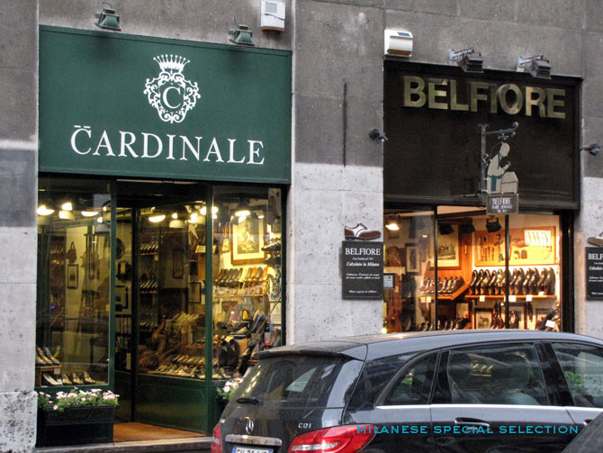 Calzaturificio Belfiore, Milano