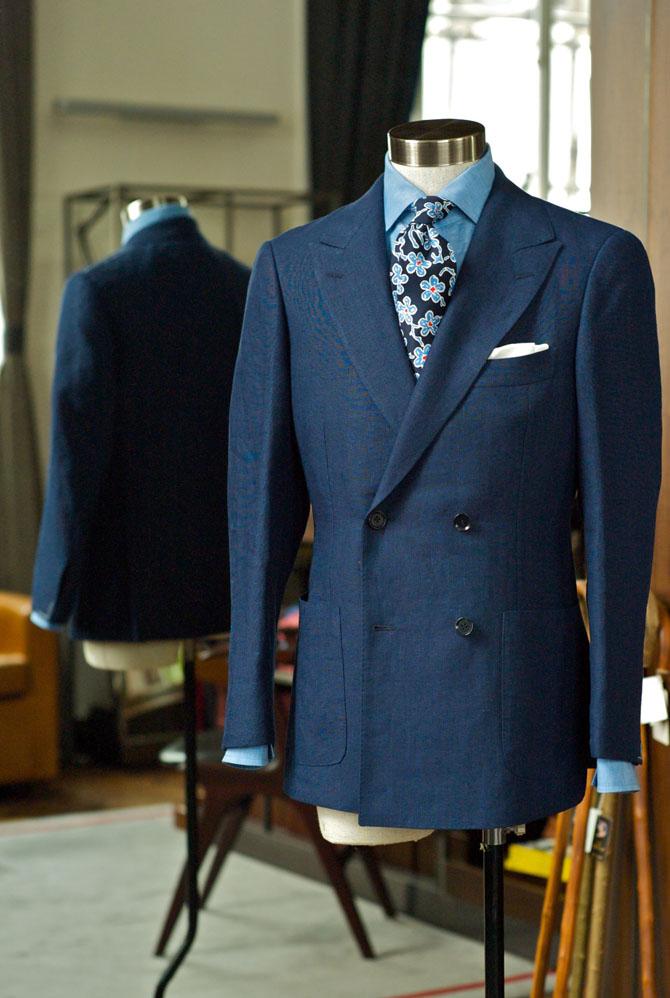veste croisée Orazio Luciano