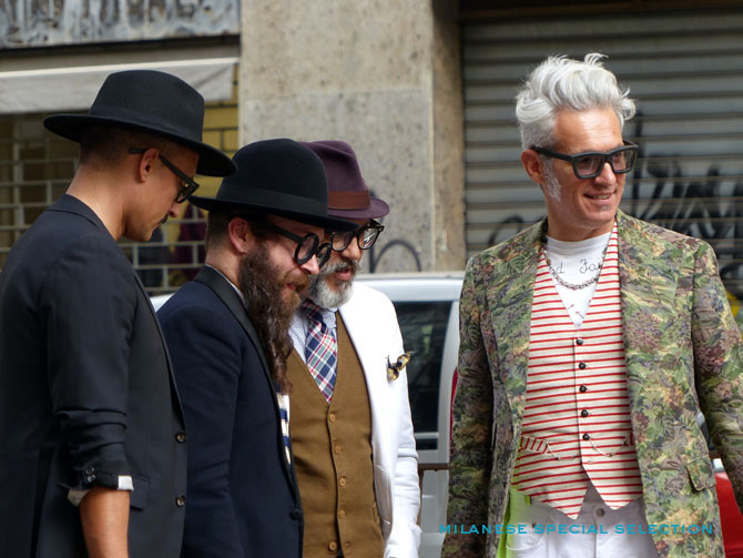 Gianni Fontana with friends