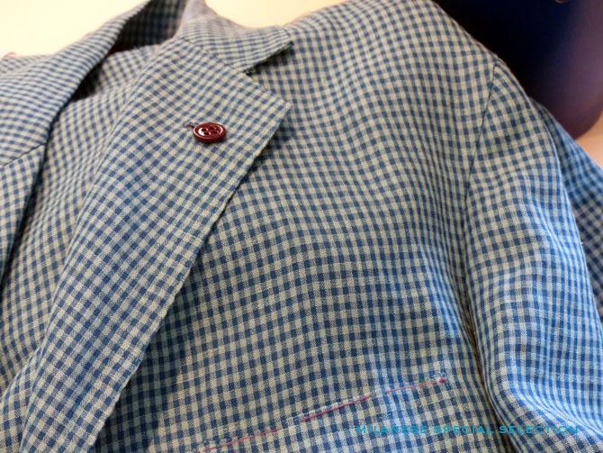 Sartoria Partenopea, veste 300 grammes / 300 grams jacket