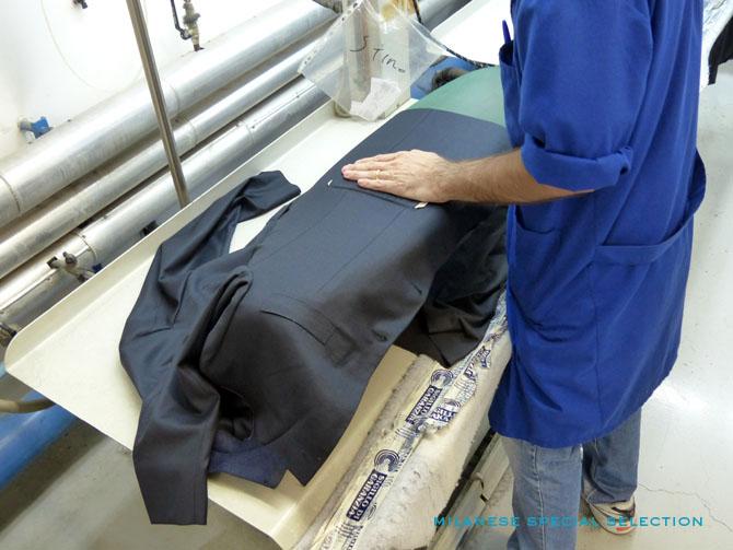 Sartoria Partenopea, repassage / ironing