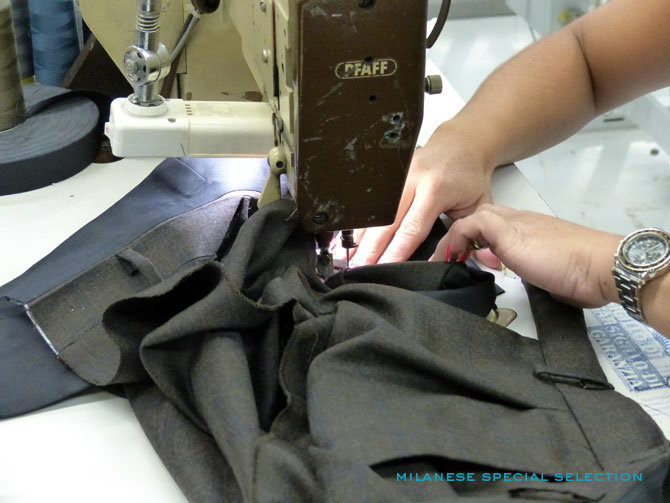 Sartoria Partenopea, pantalons / trousers