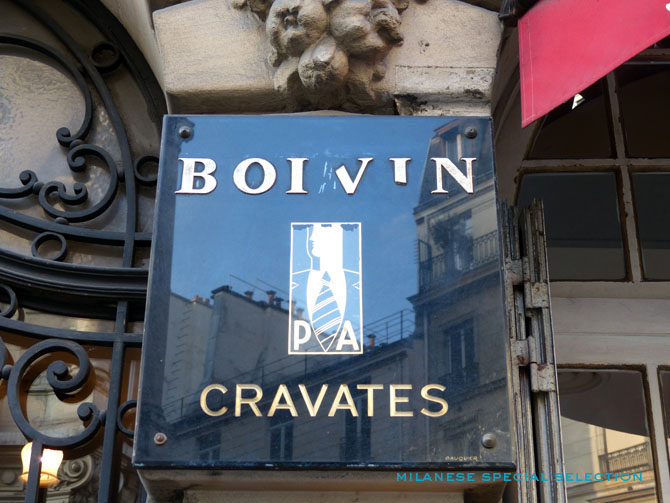 cravates Boivin
