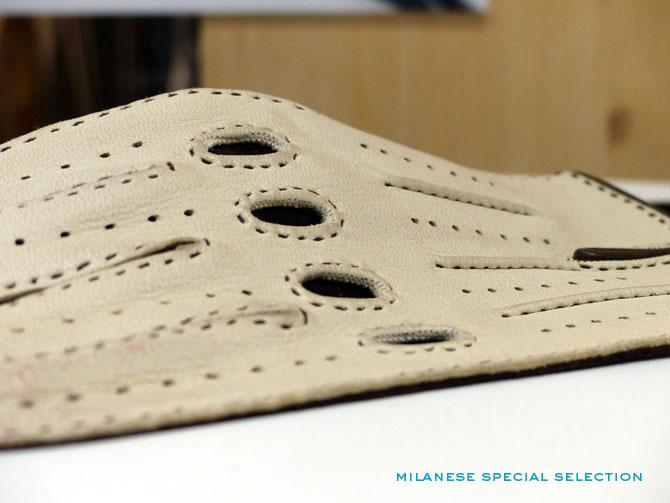 Mazzoleni gloves, Pitti Uomo 88