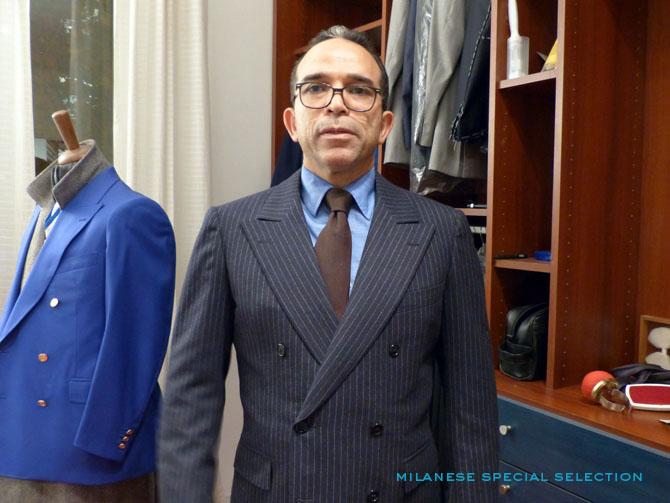 Brahim Bouloujour, tailleur, Paris, Maison Brano