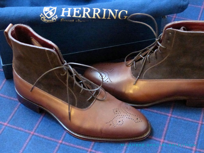 Herring Shoes, bottine homme Holmes II par Alfred Sargent