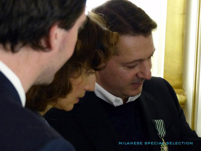 Antoine Arnault, Audrey Azoulay, Patrice Rock