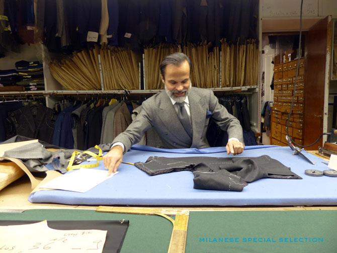 Cifonelli tailleur Lorenzo Cifonelli
