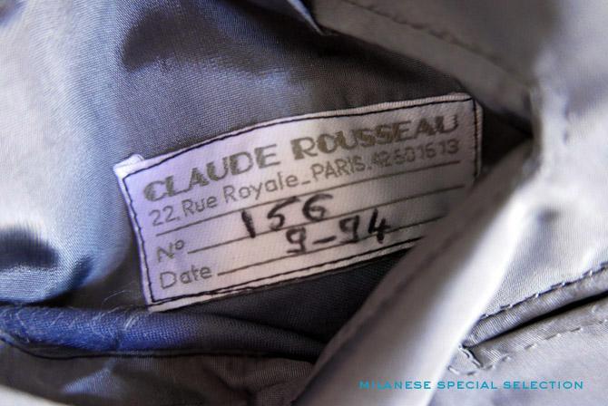 Claude Rousseau, tailleur