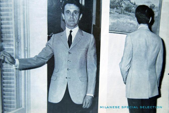 Modèle de veste du tailleur Joseph Camps, années 1960