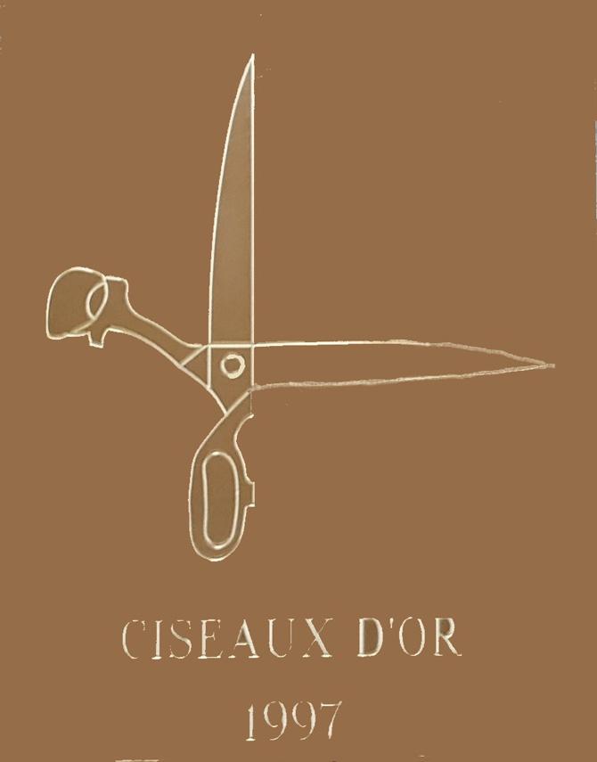 Claude Rousseau, Ciseaux d'or 1997