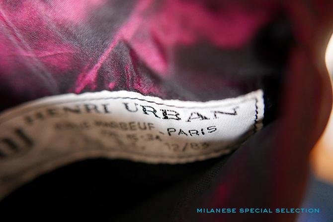 manteau Henri Urban tailleur, bespoke, à vendre