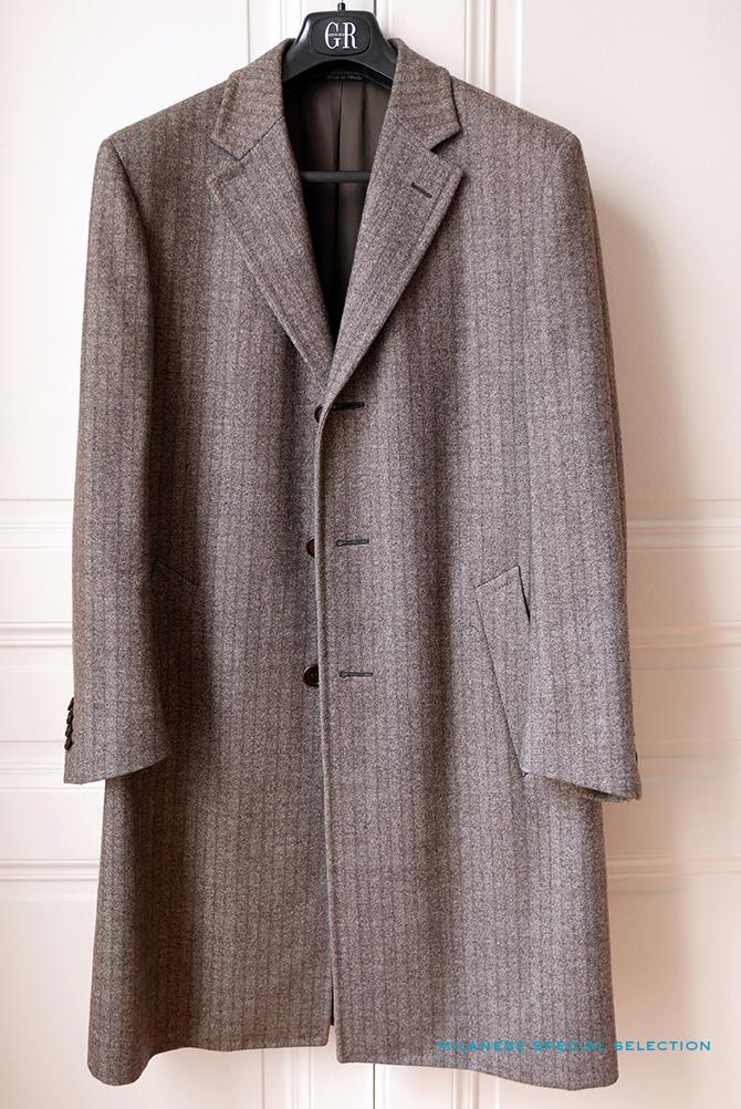 manteau Canali laine et cachemire, à vendre