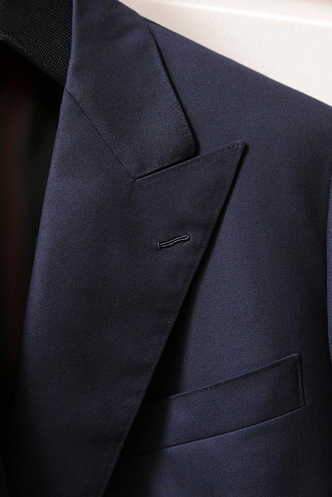 Vide-dressing homme/Dépôt-vente - Blazer croisé marine Camps de Luca