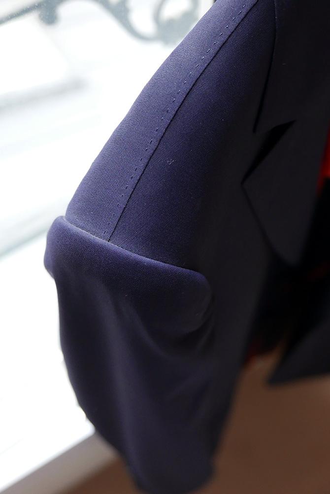 Vide-dressing homme/Dépôt-vente - Blazer d'été bleu Camps de Luca
