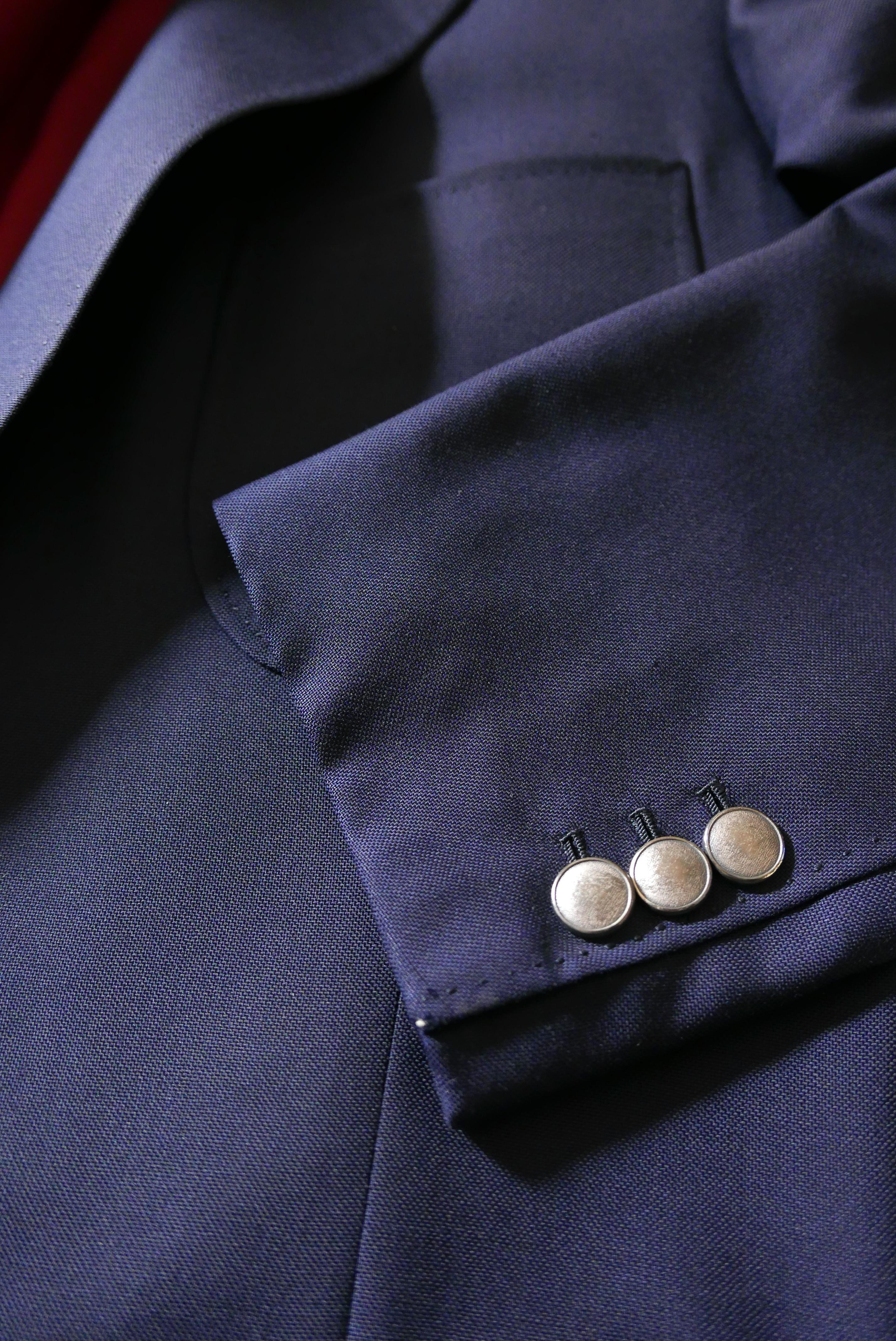 Vide-dressing homme/Dépôt-vente - Blazer droit poches plaquées Camps de Luca