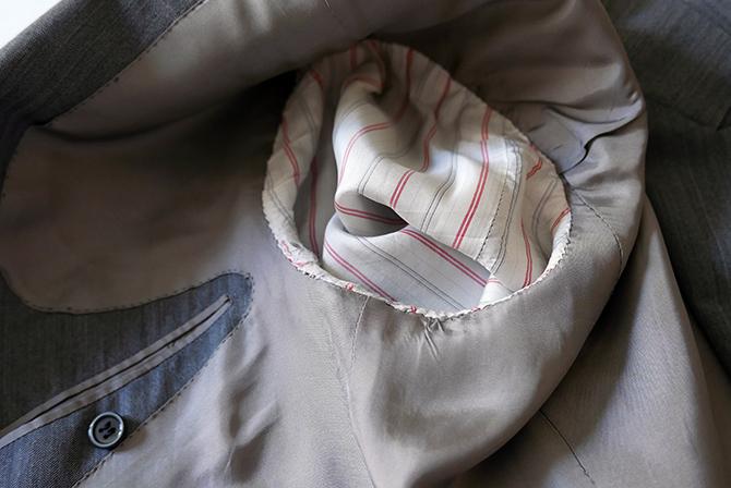 Vide-dressing homme/Dépôt-vente - Costume droit chevron Camps de Luca