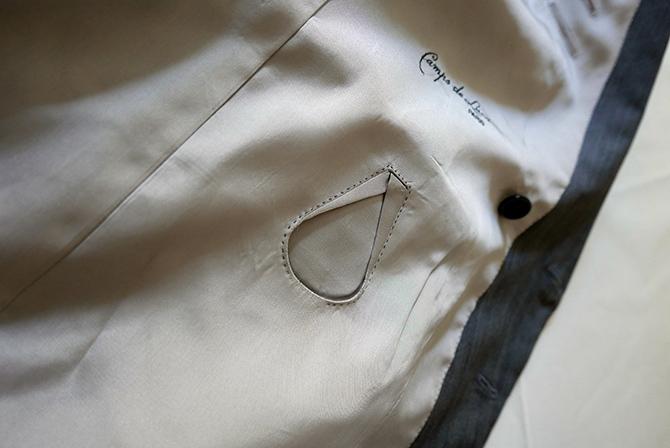 Vide-dressing homme/Dépôt-vente - Costume croisé Camps de Luca