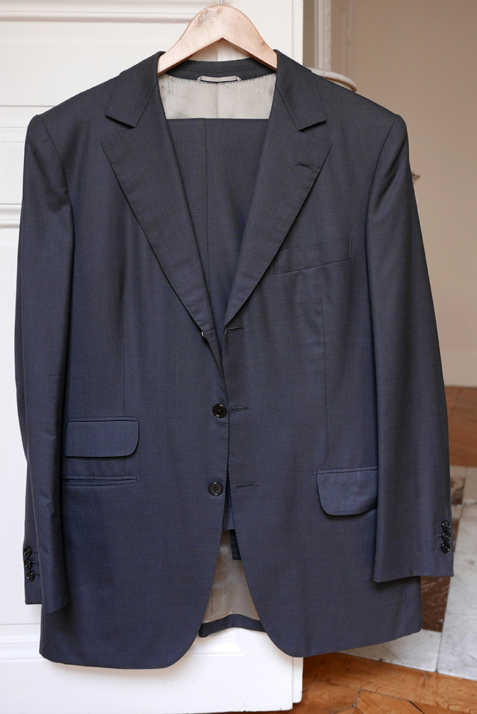 Vide-dressing homme/Dépôt-vente - Costume droit trois boutons Camps de Luca