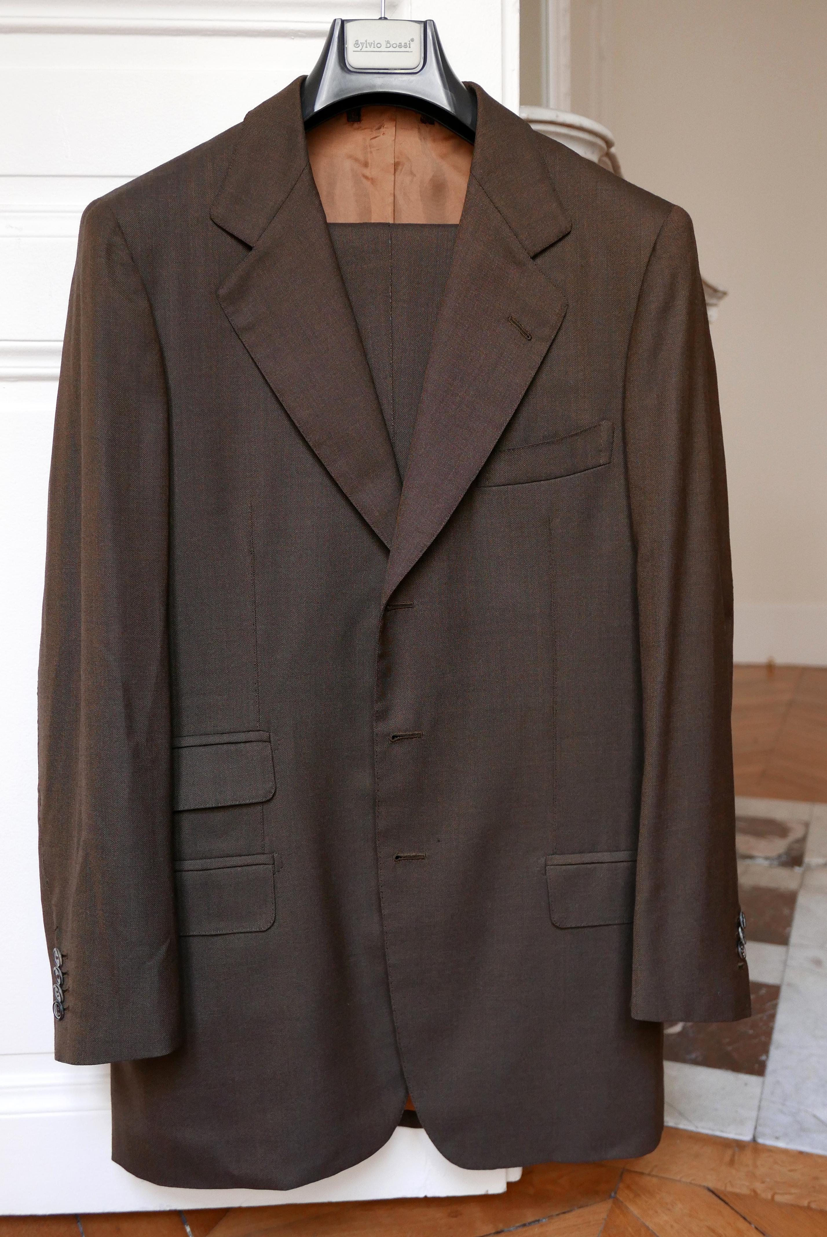 Vide-dressing homme/Dépôt-vente - Costume trois boutons Sartoria Caristo Torino