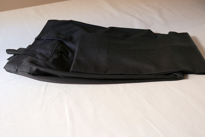 Vide-dressing homme/Dépôt-vente - Pantalon bespoke