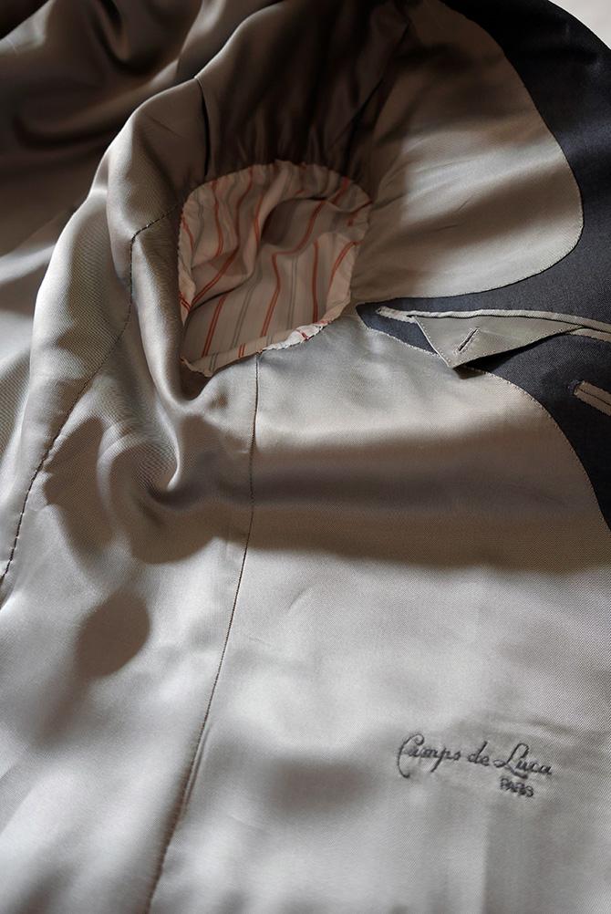 Vide-dressing homme/Dépôt-vente - Blazer droit Camps de Luca Super 180's