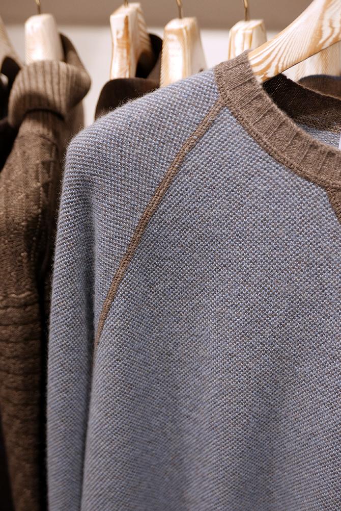 Pulls, blousons, vestes Maglificio Gran Sasso - détails