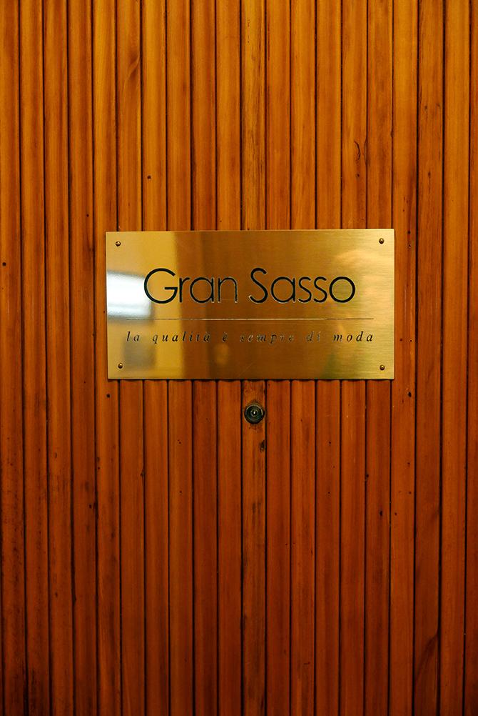 Maglificio Gran Sasso showroom Milano